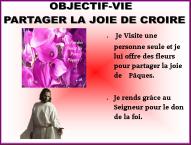 Objectif Vie la joie de croire