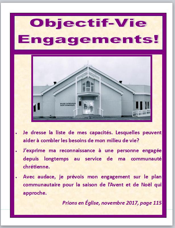 Objectif vie engagements