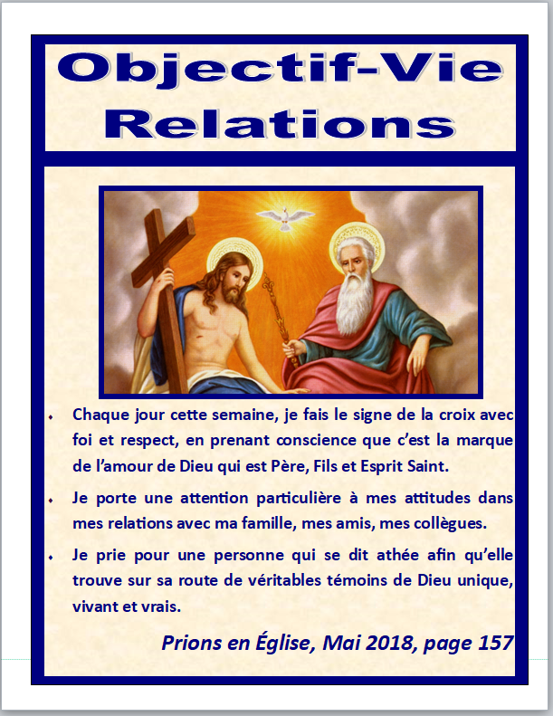 Objectif Vie relations